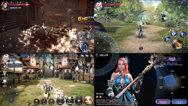 Dragon Nest II legend Android Rilis terbaru
