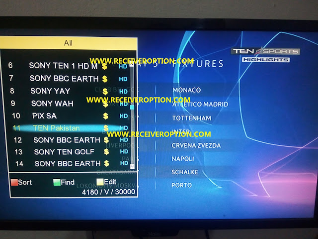 STAR TRACT 1010 2018 HD RECEIVER AUTO ROLL POWERVU KEY NEW SOFTWARE