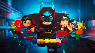 Poster Batman la Lego Pelicula