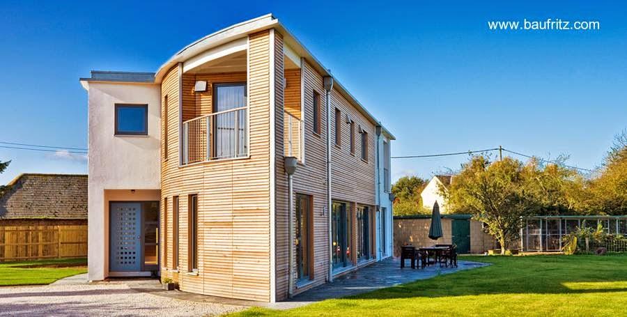 Casa residencial contemporánea amigable del medioambiente