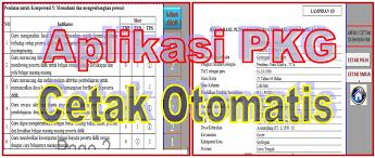 Aplikasi Penilaian Kinerja Guru Semua Golongan Format Excel 2016/2017 PK Guru Versi Terbaru