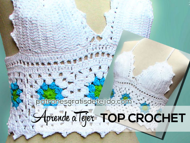 Top A Crochet Tutorial