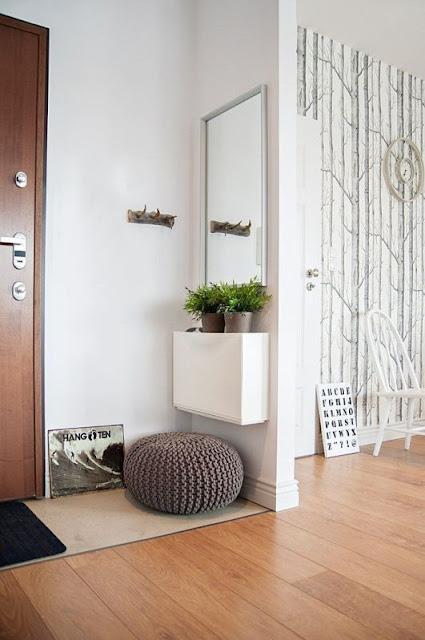 Ideas para decorar recibidores pequeños-1