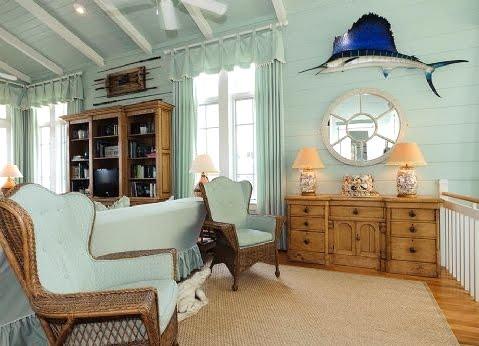 decorating with aqua blue
