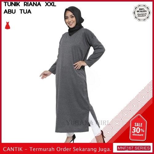 MNF167B80 Baju Muslim Wanita 2019 Riana Muslim Jumbo 2019 BMGShop
