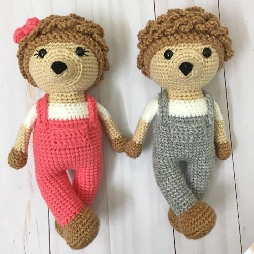 Amigurumi Hedgehogs - Free Crochet Pattern