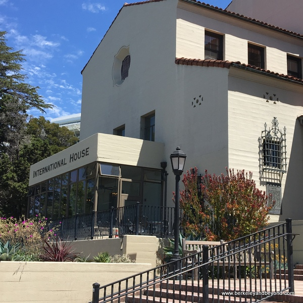 exterior of International House on U.C. campus in Berkeley, Calfornia