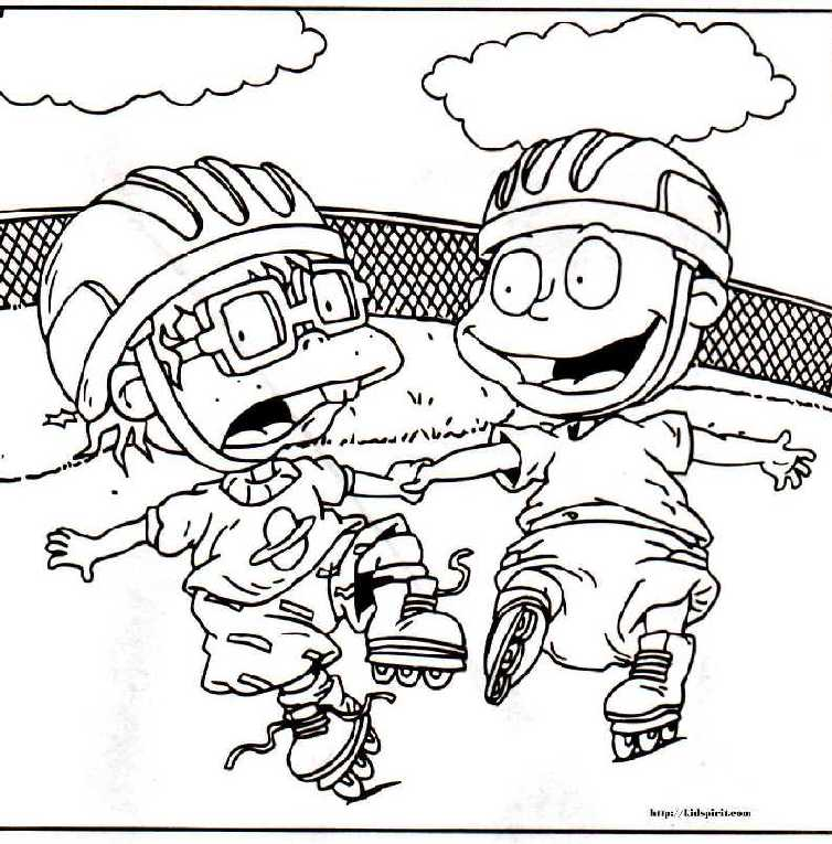 Free Printable Rugrats Coloring Pages (; | Everything ...
