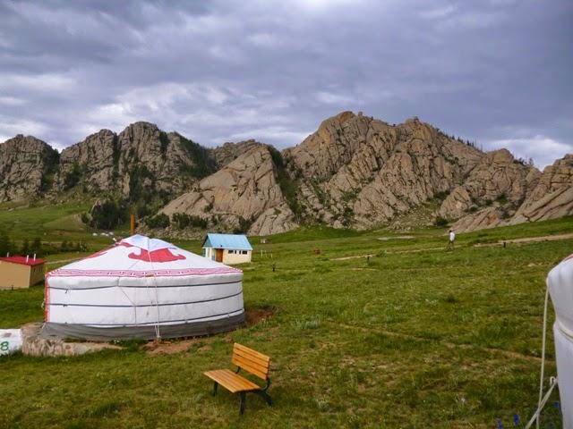 Campamento de ger turísticos