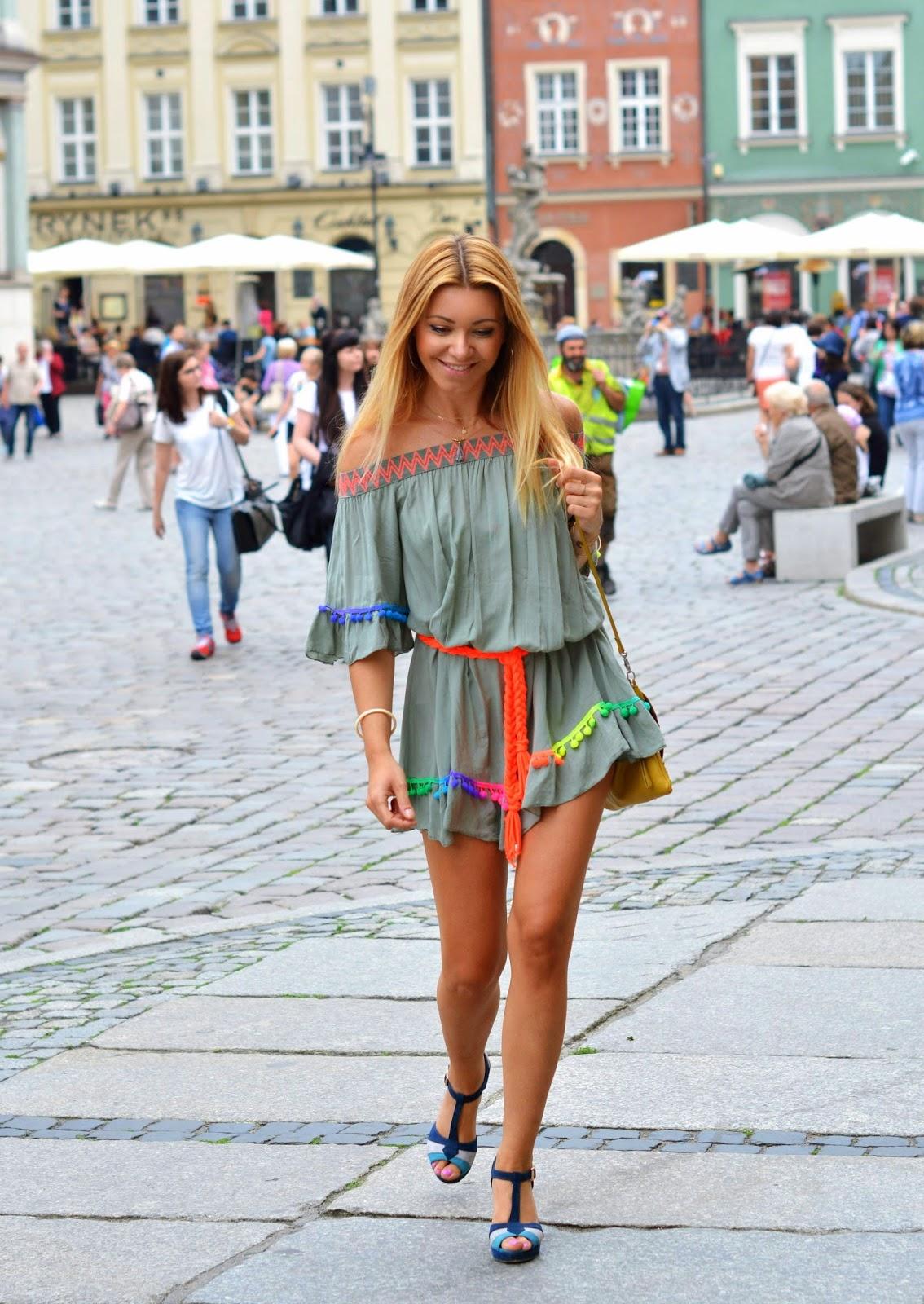 poznań, boho style, kolory, poznan, lato, blondynki, poznanianki, blog, styl