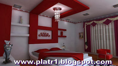 chambres de love decorations platre