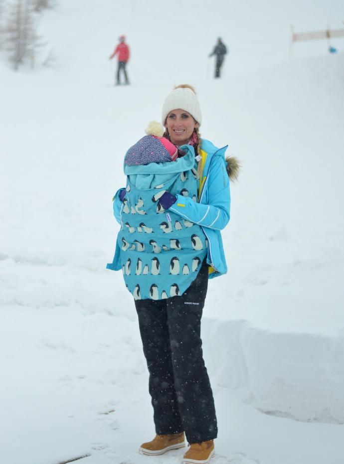 bundle bean, family ski holiday, snowbizz, baby skiing