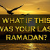 Ramadhan Terakhir