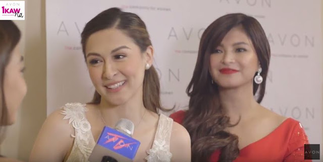 Angel Locsin Looked Hot In Her Bloody Red Dress At The Avon NASCON 2017!