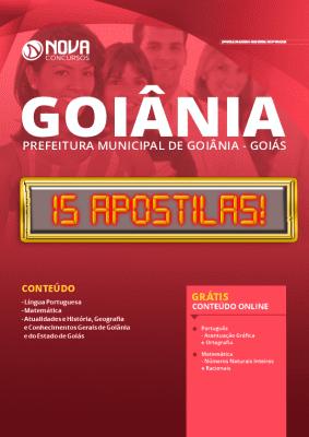 Apostila Concurso Prefeitura de Goiânia 2020 Grátis Cursos Online