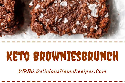 Keto Brownies #christmas #brownies