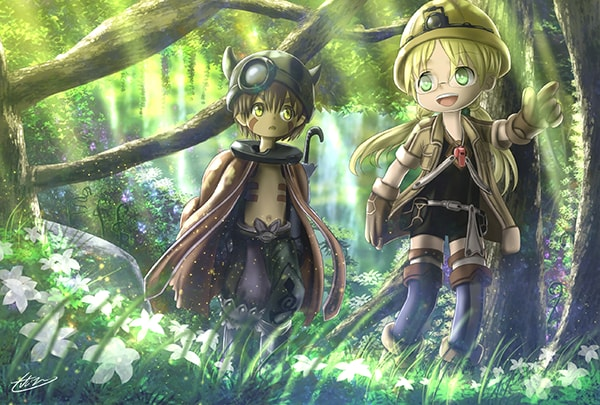 7 Anime yang Mirip Seri Made in Abyss