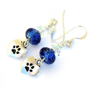dog rescue earrings gift idea for her
