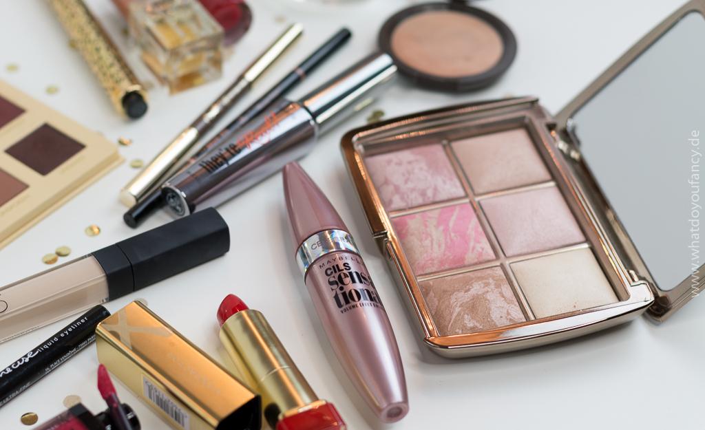 Weihnachts-Make-Up-Look