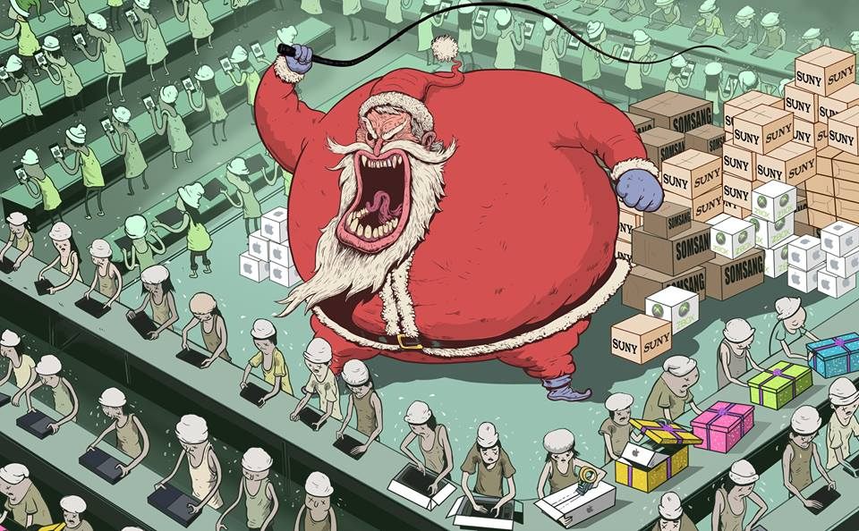 This Artwork Is Probably The Most Accurate (And Scary) Portrayal Of Modern Life We've Ever Seen - SANTA'S REAL WORKSHOP
