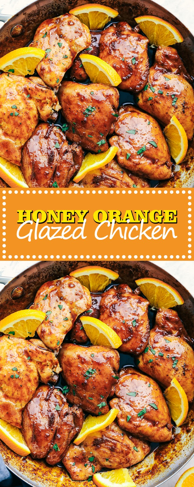 HONEY ORANGE GLAZED CHICKEN