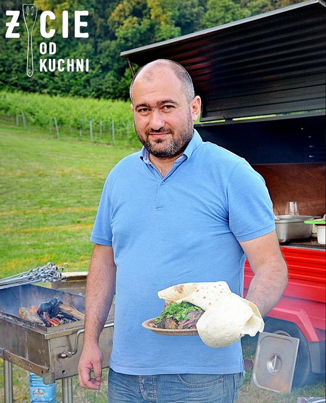 pavel portoyan, krako slow grill, grill, zycie od kuchni, gruzinska kuchnia, gruzinskie wino, poznaj smak gruzji, winnica srebrna gora,