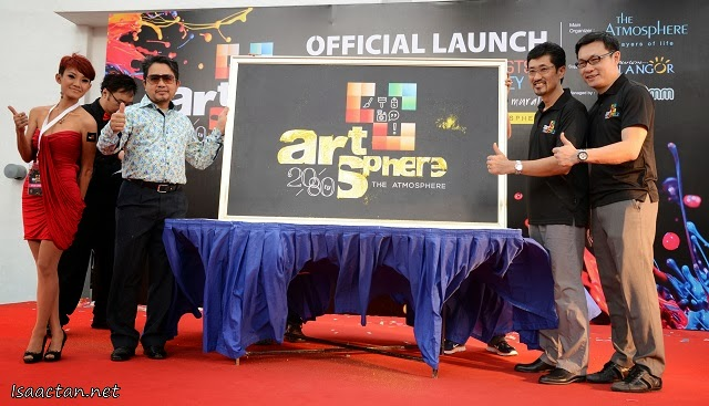 Artsphere 20/8ty officially launched at The Atmosphere Seri Kembangan