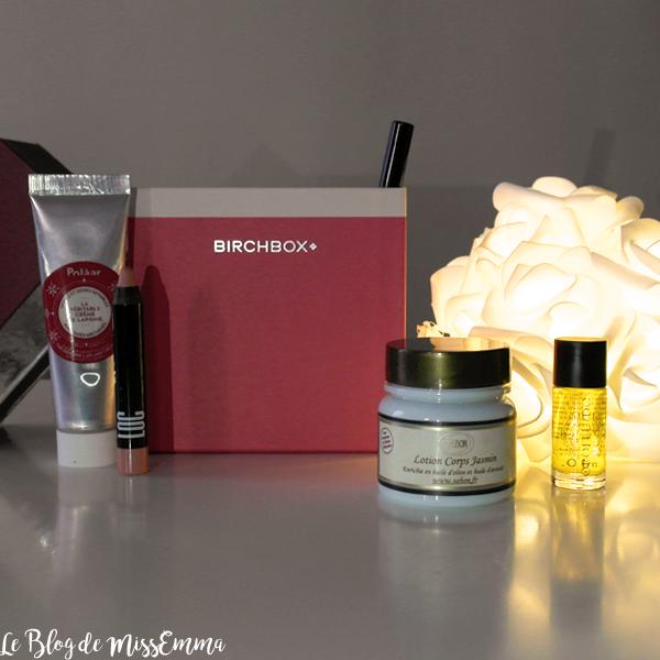 Birchbox • Chic c'est Noël (décembre 2016)