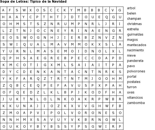 La De Sopa De Para Imprimir Letras Biblia