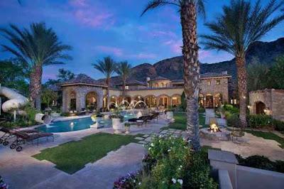 Randy Johnson's Arizona home