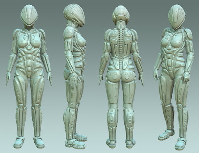 Astraios Ranger for Genesis 3 Female