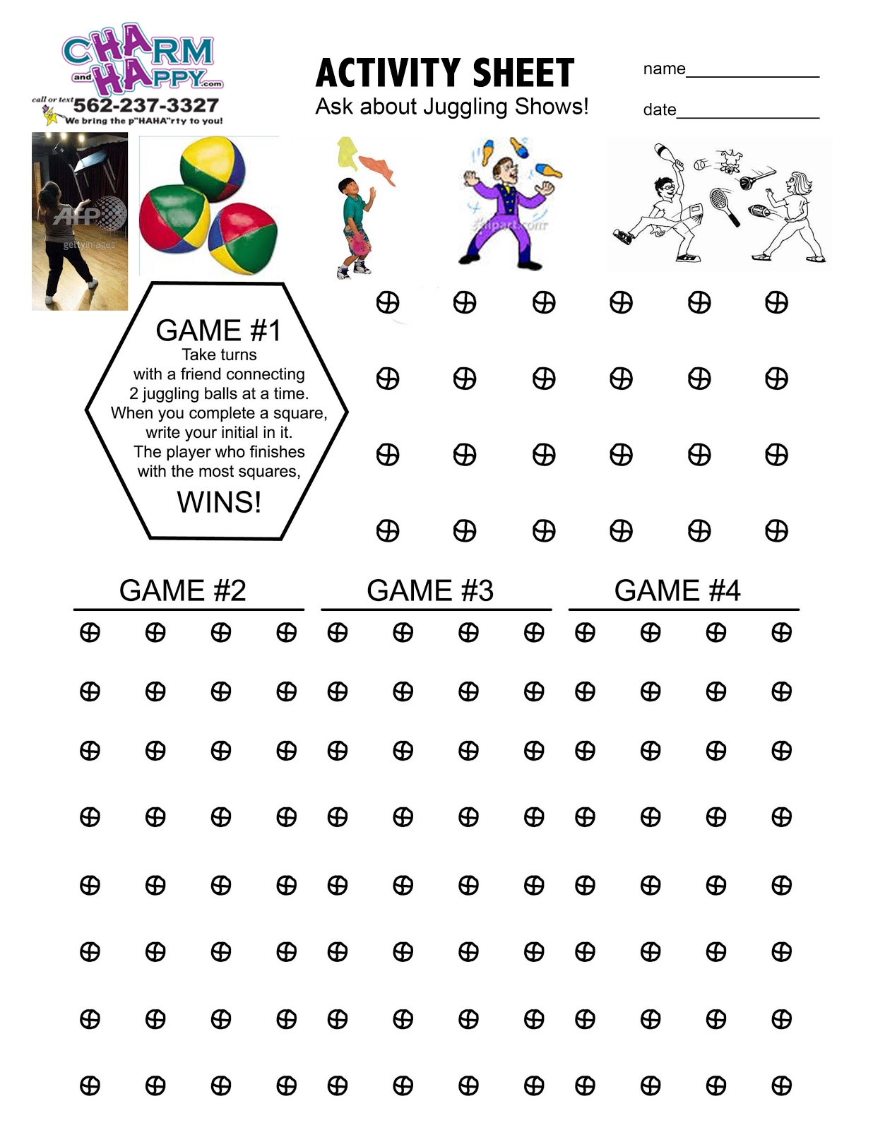 Activity Sheets By Charmandhappy