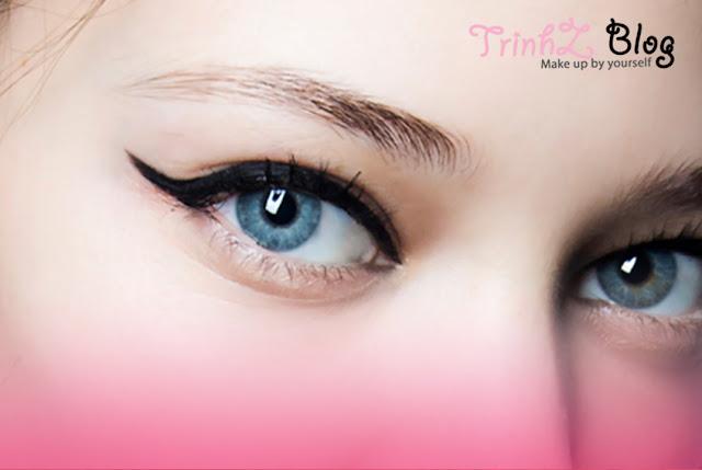 hướng dẫn kẻ mắt đẹp trang điểm