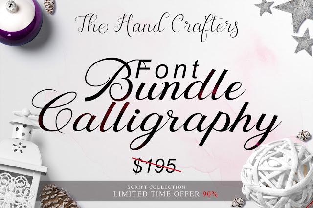 free-font-bundle-Calligraphy