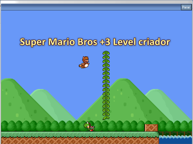 Super Mario Bros +3 Level criador +Builder +Source