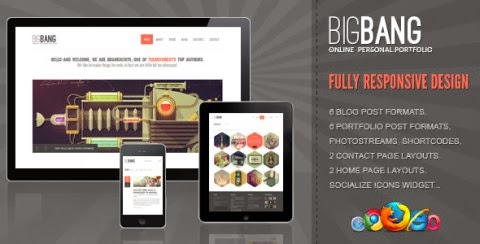big bang wordpress theme