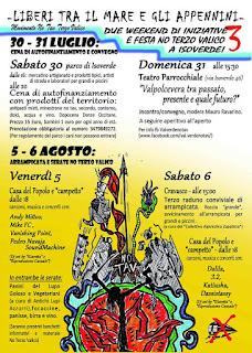 http://notavterzovalico.info/2016/07/21/liberi-tra-il-mare-e-gli-appennini-festa-notav-in-valverde-dal-30-luglio/