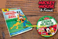 Logo Crema Bel Paese ti regala un libro gioco Mickey Mouse&Friends