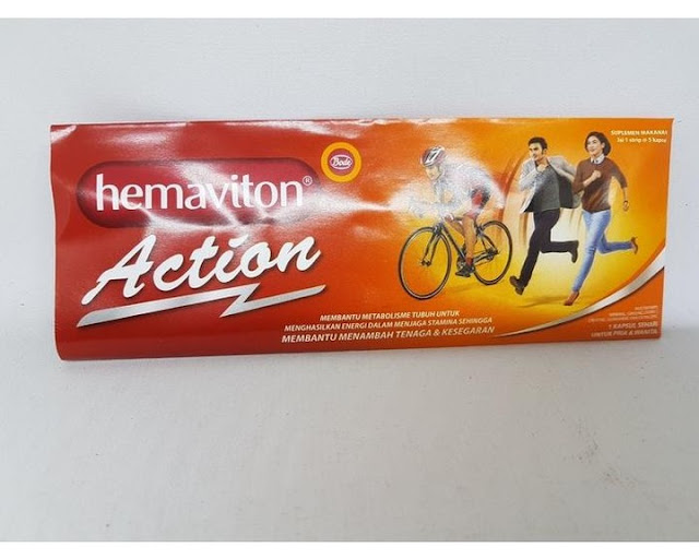 Hemaviton Action multivitamin
