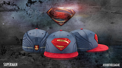 Justice League Movie Character Armor 59Fifty Fitted Hat Collection by New Era x DC Comics - Superman