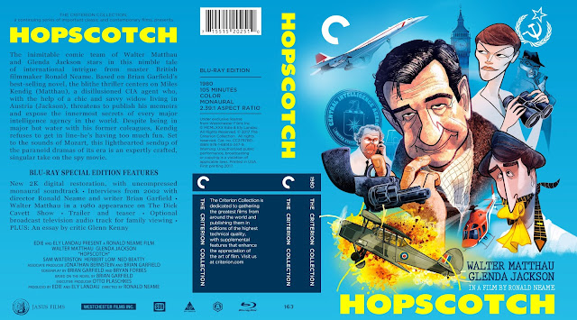 Hopscotch (1980) Bluray Cover