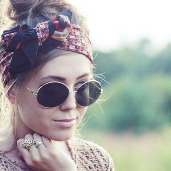Aquí las mejores imágenes de Femeninos peinados con accesorios , pañuelos  2016,como fuente de inspiración