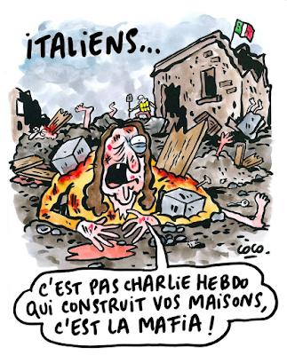 Charlie Hebdo non costruisce le vostre case