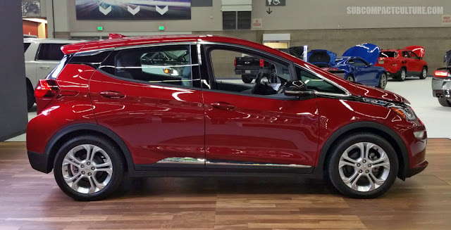 2017 Chevrolet Bolt EV at the 2017 Portland International Auto Show