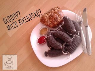 Kiełbaski amigurumi - Ofuniowo