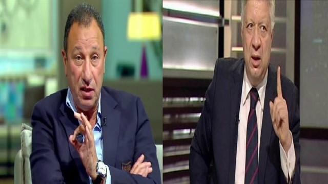 مرتضى منصور يهدد الخطيب بالتفاوض مع عبد الله السعيد واحمد فتحي للانتقال للزمالك