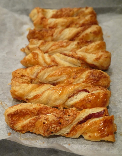 Herby Parma Ham Cheese Twists The Betty Stamp
