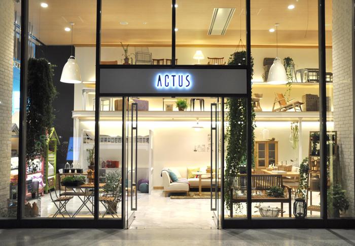 Actus store in Tokyo