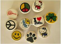 Round ceramic beads