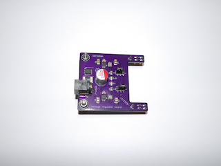 Circuito regulador de tensão CRT3350A.